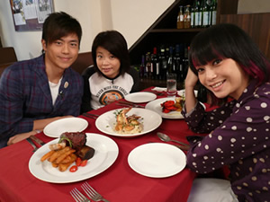 Sammy Leung, Kitty Yuen and Yan Ng